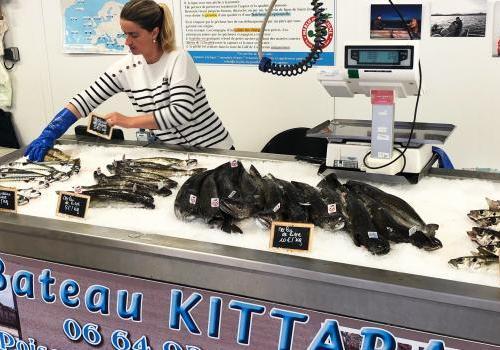 Vente directe de poissons